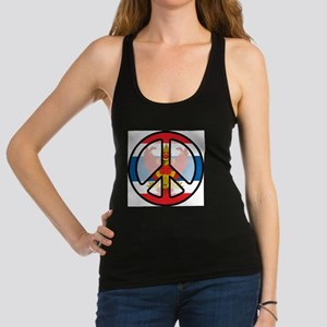 Peace In Thailand Racerback Tank Top