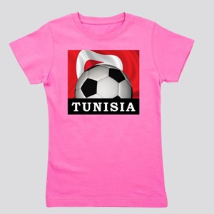 Tunisia Football Girl's Tee