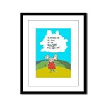 Country Mouse Framed Panel Print