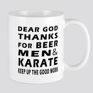 Beer Men and Karate Mug