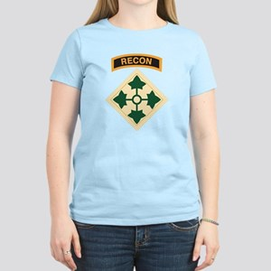 4th Infantry Div with Recon T-Shirt