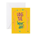 Have the Best Day Greeting Cards (Pk of 10)