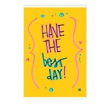 Have the Best Day Postcards (Package of 8)