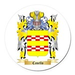 Casello Round Car Magnet