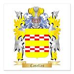 Casellas Square Car Magnet 3