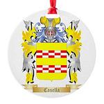 Casella Round Ornament