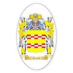 Casel Sticker (Oval 50 pk)