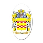 Casel 35x21 Oval Wall Decal