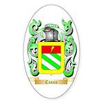 Cascio Sticker (Oval 50 pk)