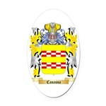 Casassa Oval Car Magnet