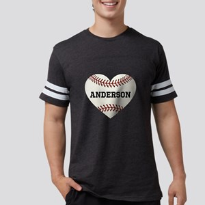 Baseball Love Personalized Mens Football Shirt