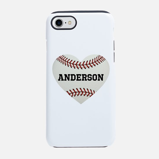 Baseball Love Personalized iPhone 7 Tough Case
