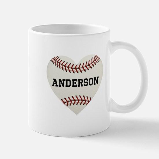 Baseball Love Personalized Mug