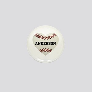 Baseball Love Personalized Mini Button
