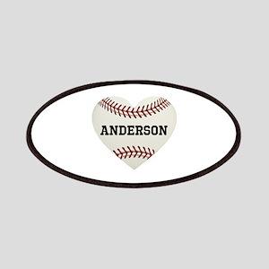 Baseball Love Personalized Patch