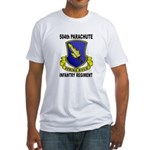 504TH PARACHUTE INFANTRY REGIMENT Fitted T-Shirt