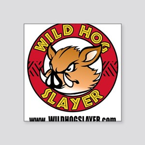 Wild Hog Hunters Worldwide Sticker