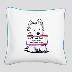 Vital Signs: FOCUS Square Canvas Pillow