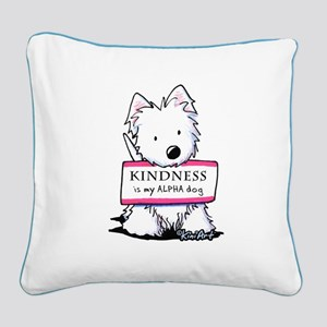 Vital Signs: KINDNESS Square Canvas Pillow