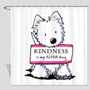 Vital Signs: KINDNESS Shower Curtain