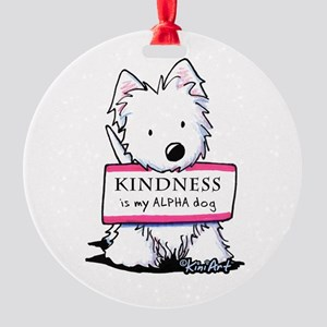 Vital Signs: KINDNESS Round Ornament