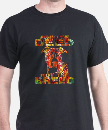 PUNISH THE DEED NOT THE BREED TD2E T-Shirt