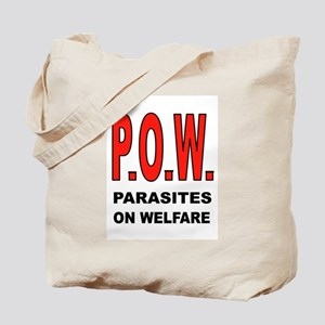 WELFARE PARASITES Tote Bag