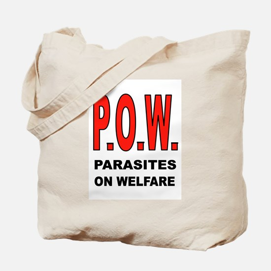 WELFARE PARASITES Tote Bag