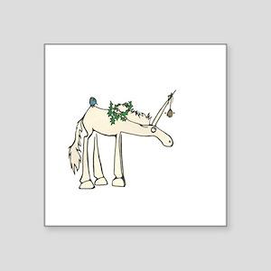 Unicorn with Bell Sticker