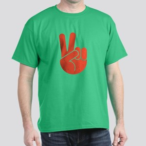 International Peace Hand Dark T-Shirt