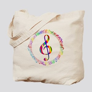 Music in the Round Tote Bag
