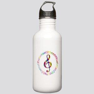 Music in the Round Stainless Water Bottle 1.0L