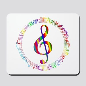 Music in the Round Mousepad