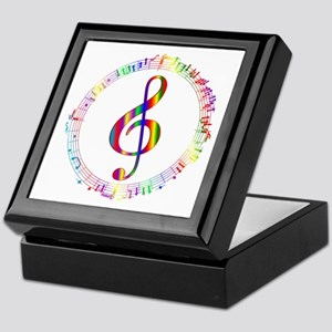 Music in the Round Keepsake Box