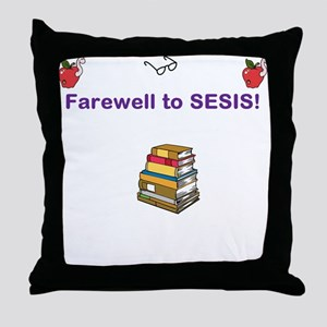 SESIS Throw Pillow