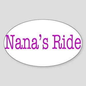 Nanas Ride Sticker