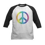 Love & Peace Kids Baseball Jersey