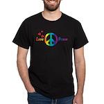 Love & Peace Black T-Shirt