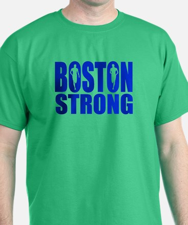 Boston Strong Blue T-Shirt