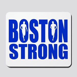 Boston Strong Blue Mousepad