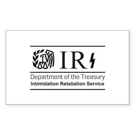 Obamas IRS Sticker