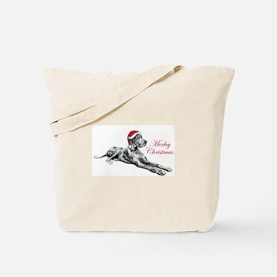 Great Dane Merley Xmas UC Tote Bag