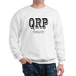 QRP Front. HFPACK Insignia Back. Sweatshirt