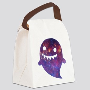Galactic Ghost Canvas Lunch Bag