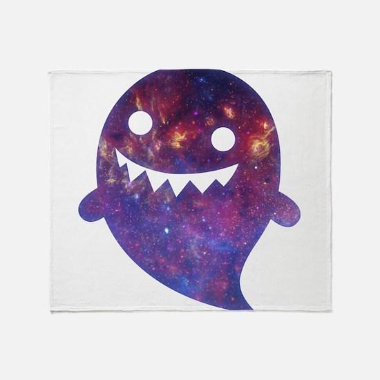 Galactic Ghost Throw Blanket