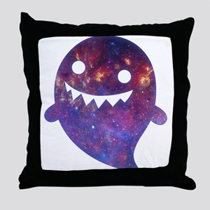 Galactic Ghost Throw Pillow