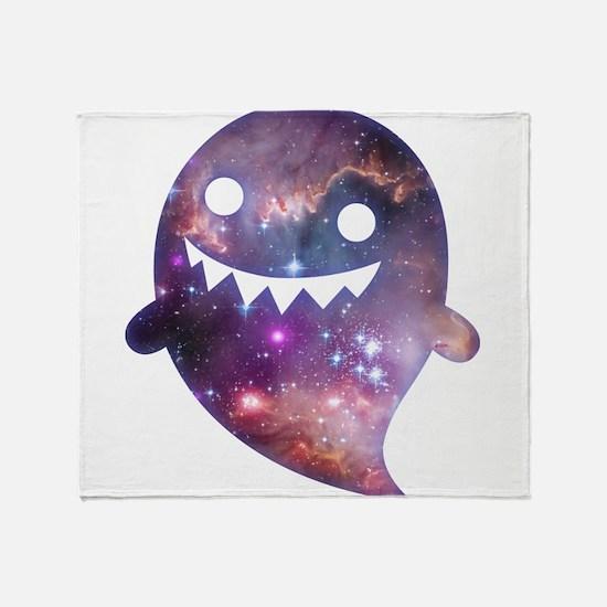 Cosmic Ghost Throw Blanket
