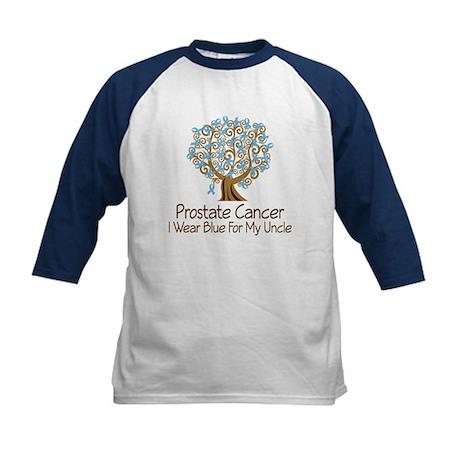 Prostate Cancer Uncle Kids Baseball Jersey