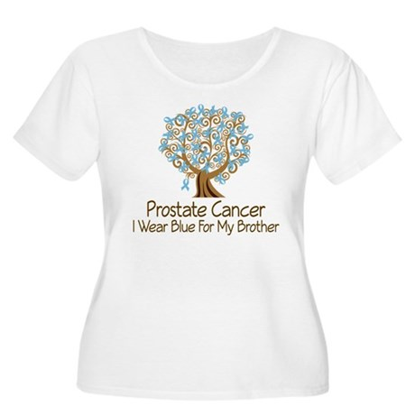 Prostate Cancer Brother Women's Plus Size Scoop Ne
