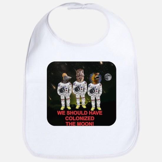 Space Dinos 6 -- Colonize Moon Bib